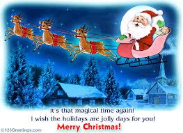 magical christmas eve free christmas eve ecards greeting cards