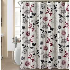 Washable Curtains 25 The Wild Bloom Shower Curtain Featuring A Floral Silhouette In