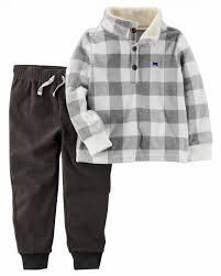 Favorito Conjunto Carters Menino - duas peças: calça + casaco GE9026  @PW63