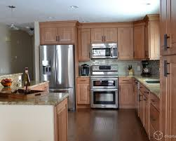 maple cabinets with white countertops maple kitchen cabinets with white countertops some treatments to