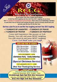 news u0026 events rccg rock of redemption