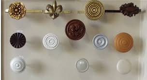 Drapery Medallions Hardware Decor Captivating Curtain Hardware For Home Decoration Ideas