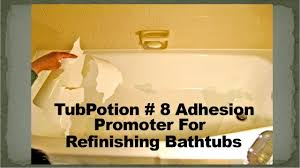 Bathtub Paint Peeling How To Prevent Peeling Bathtub Coatings Tubpotion 8 Adhesion