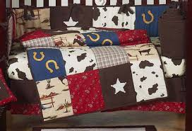 Cowboy Bed Sets West Western Cowboy Baby Bedding 9 Pc Crib Set Only