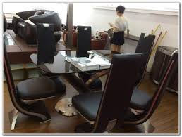 Genuine Leather Dining Room Chairs by Genuine Leather Dining Room Chairs