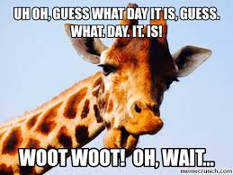 Rainy Day Meme - guess what day it is pictures photos and images for facebook