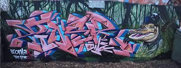 The Bench Graffiti New Me U0026 Ziner X Ironlak X The Bench 504 On Behance