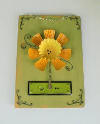 found object flower assemblage 5 24 metal flower wall art home
