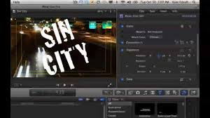 final cut pro text effects creating text mask effects with final cut pro x youtube