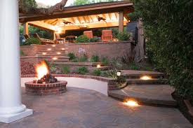 Landscape Lighting Los Angeles How Landscape Lighting Around A Patio Walkway Or Driveway Will