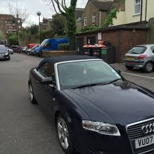 manual midnight blue 2007 audi a4 cabriolet 56 000 miles in