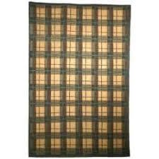 Brown Tartan Rug Plaid 5x8 6x9 Rugs Shop The Best Deals For Nov 2017