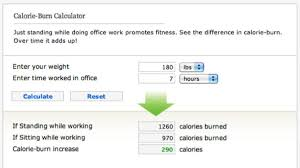 how many calories do you burn standing at your desk how many calories would you burn if you switched to a standing desk