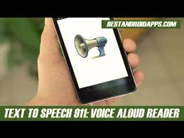 text reader for android text to speech 911 voice aloud reader android app review
