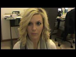 best size curling iron for medium length hair how to curl short medium length hair youtube