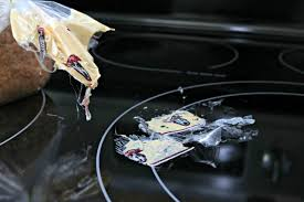 What Is A Cooktop Stove How To Clean Melted Plastic Off Of Your Stove Top Mom 4 Real