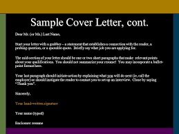 résumé writing u0026 cover letters nevada health science ppt download