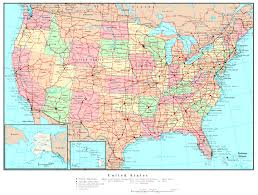 Map Of The States Of Usa by Map Of The Usa With States And Cities Usa Map With States Major