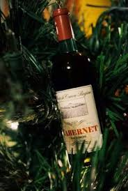 wine themed christmas tree wine theme pinterest themed