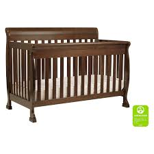 cribs that convert davinci kalani 4 in 1 convertible sleigh crib hayneedle