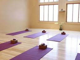 sweeping the floor of the yoga studio or how i learned to touch my
