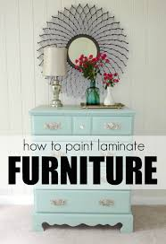 How To Paint Wood Furniture by Livelovediy How To Paint Laminate Furniture In 3 Easy Steps