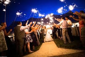sparklers for wedding wedding sparkler photos