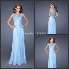 blue lace bridesmaid dresses a line sleeveless chiffon blue lace bridesmaid dresses