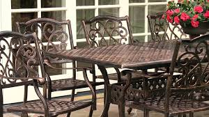 9 Pc Patio Dining Set - lagos 9 pc expandable outdoor dining set youtube