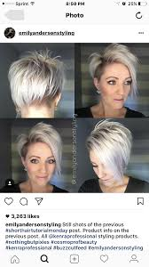 how to grow out short stacked hair this is my next hairstyle silver blonde pixie cut i m obsessed