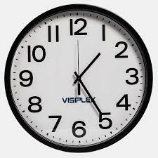 wall watch ts4142 wireless synchronized wall clock for commercial applications