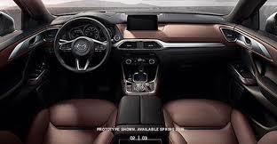 New Interior Appearance New Mazda Cx 9 Appearance Leaked On The Internet Prior To Its
