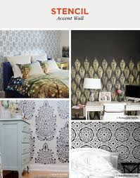 30 accent wall ideas to transform a room shutterfly stencil accent wall