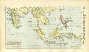 Ancient Map Of Africa by Map Of India And The Malay Archipelago 1498 1850