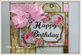 happy belated birthday card polly u0027s paper studio