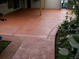 Concrete Patio Floor Paint Ideas by Outdoor Stained Concrete Patio U2014 Home Design Ideas Stained