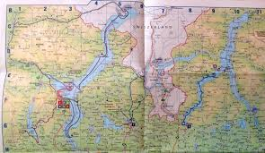 Map Northern Italy by The Way Of Silence And A Surreal Surprise U2013 Northern Lakes Of
