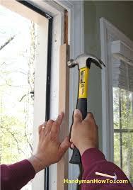 Repair Exterior Door Jamb Front Doors Front Door Jamb Repair Backyards Install Entry Door