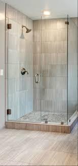 Large Bathroom Showers Corner Shower Enclosures For Small Bathroom With Pentagon Shape
