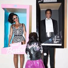 beyonce and jay z family halloween costume 2016 popsugar celebrity