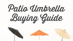 Bunnings Cantilever Umbrella by Patio Umbrella Buying Guide Youtube