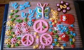 collections of hippie cake decorations wedding ideas