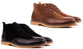 groupon s boots 43 on royal s wingtip desert boots groupon goods