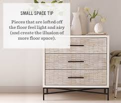 Dresser Ideas For Small Bedroom Small Dressers West Elm Pertaining To Stylish Dresser For Small