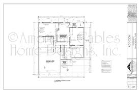 floor plan with scale house plan exles american gables home designs