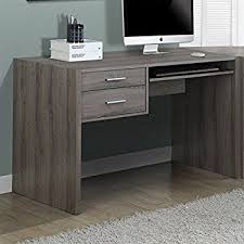 48 Inch Computer Desk Monarch Specialties Taupe Reclaimed Look Computer