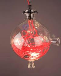 converted spherical universal laboratory vessel pendant light