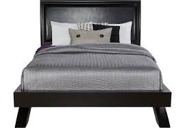 Black Platform Bed Belcourt Black 3 Pc Platform Bed Beds Colors