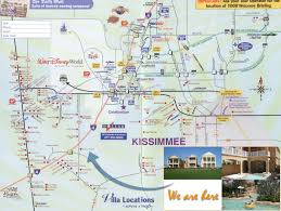 Map Of Orlando by Kissimmee Map My Blog