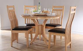 fresh design circular dining table fanciful round dining table set